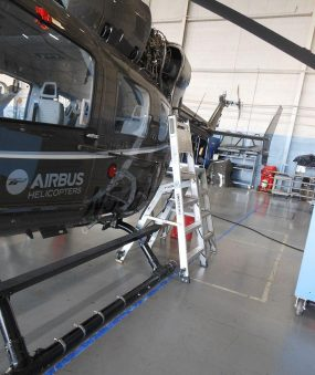 6' Helicopter Pylon Ladder with Airbus helicopter