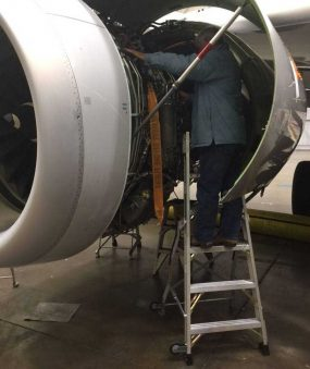 6' LNC Pylon Engine Ladder on Airbus A320