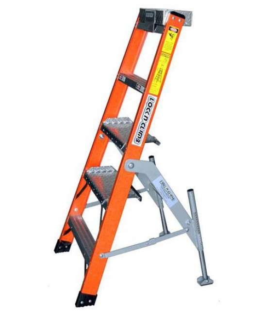 5' Fiberglass MRO Cadet General Aviation Ladder