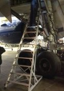 15' Gear & Wheel Well Cadet Ladder on Boeing 777