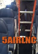 5' Airline Interior Cabin Ladder in action