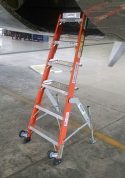 6' Fiberglass MRO Cadet General Aviation Ladder with MD80